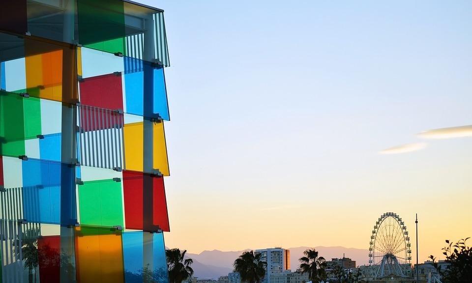 Visit the Malaga Pompidou Centre